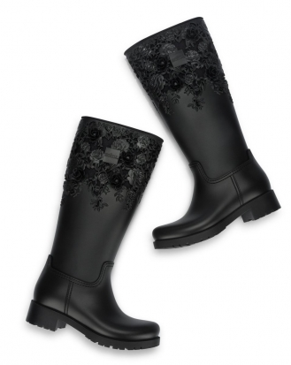 MELISSA FLOWER BOOT HIGH